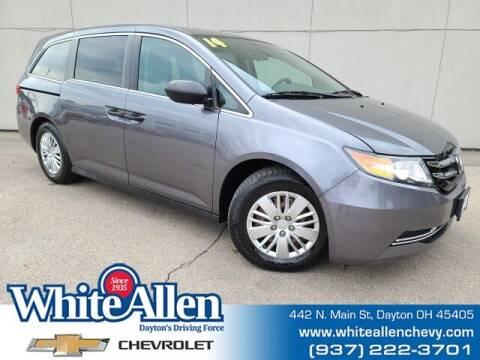2014 Honda Odyssey for sale at WHITE-ALLEN CHEVROLET in Dayton OH