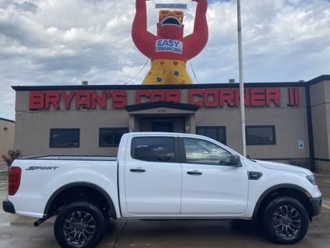 2019 Ford Ranger for sale at Bryans Car Corner in Chickasha OK