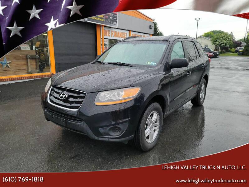 2010 Hyundai Santa Fe for sale at Lehigh Valley Truck n Auto LLC. in Schnecksville PA