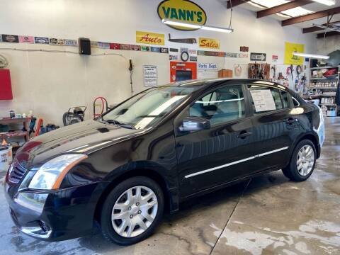 2012 Nissan Sentra for sale at Vanns Auto Sales in Goldsboro NC