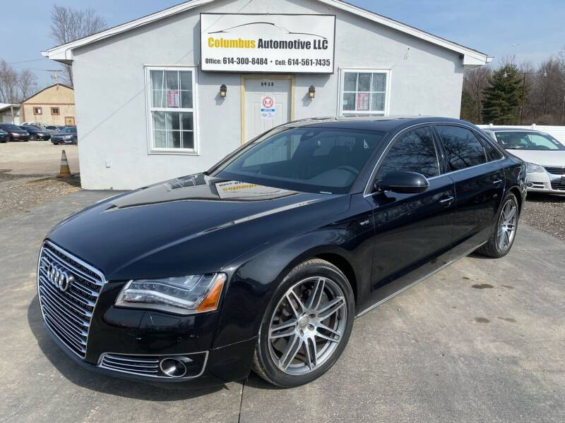 2012 Audi A8 L for sale at COLUMBUS AUTOMOTIVE in Reynoldsburg OH