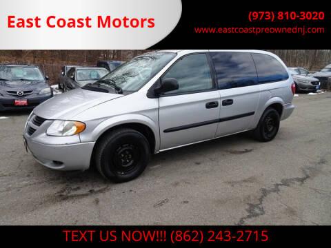 2007 Dodge Grand Caravan for sale at East Coast Motors in Lake Hopatcong NJ