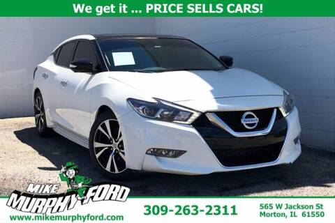 2018 Nissan Maxima for sale at Mike Murphy Ford in Morton IL