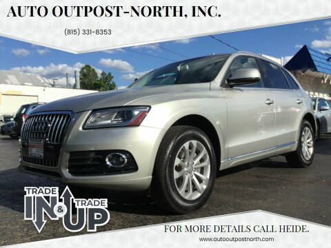 2015 Audi Q5 for sale at Auto Outpost-North, Inc. in McHenry IL
