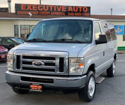 2009 Ford E-Series Wagon for sale at Executive Auto in Winchester VA