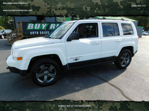 2013 Jeep Patriot for sale at Buy Right Auto Sales Inc in Fort Wayne IN