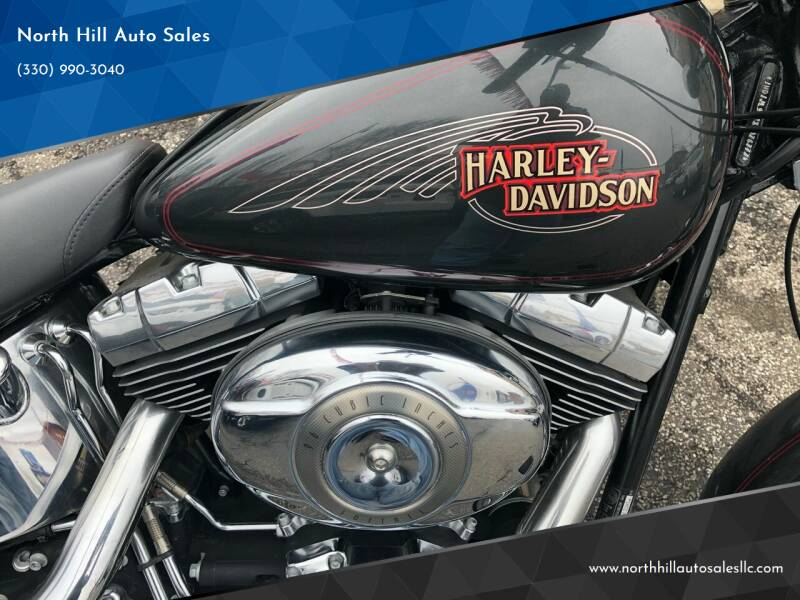 2008 HARLEY DAVIDSON FXSTC1 for sale at North Hill Auto Sales in Akron OH