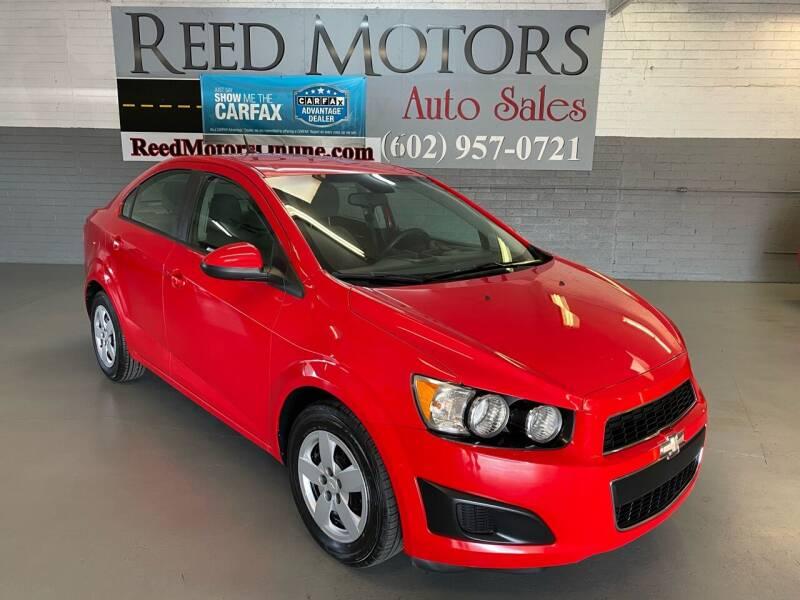 2014 Chevrolet Sonic for sale at REED MOTORS LLC in Phoenix AZ