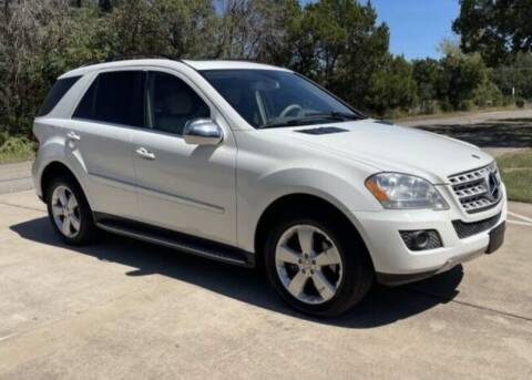 2010 Mercedes-Benz M-Class for sale at Luxury Motorsports in Austin TX