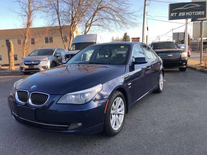 2010 BMW 5 Series for sale at RT28 Motors in North Reading MA