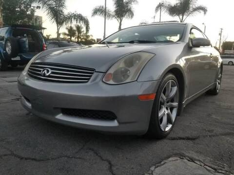 2005 Infiniti G35 for sale at GENERATION 1 MOTORSPORTS #1 in Los Angeles CA