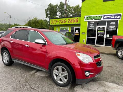 2015 Chevrolet Equinox for sale at Empire Auto Group in Indianapolis IN