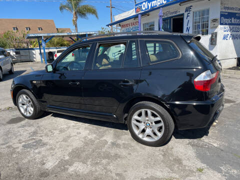 2007 BMW X3 for sale at Olympic Motors in Los Angeles CA