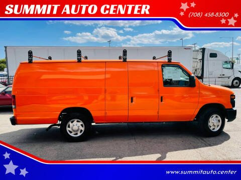 2013 Ford E-Series Cargo for sale at SUMMIT AUTO CENTER in Summit IL