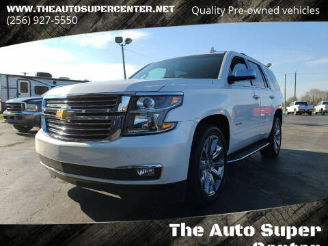 2017 Chevrolet Tahoe for sale at The Auto Super Center in Centre AL