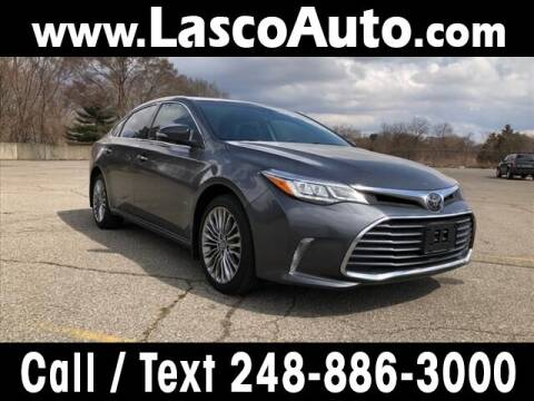 2016 Toyota Avalon for sale at Lasco of Waterford in Waterford MI