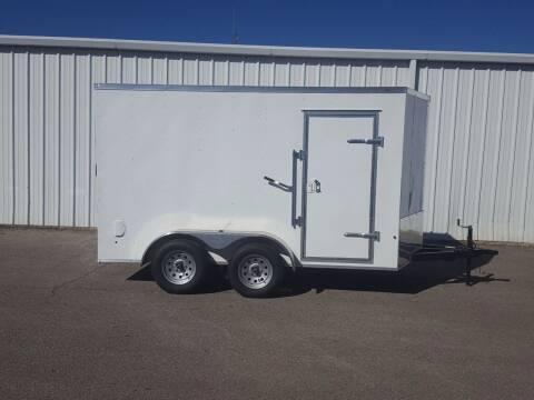 2020 SALVATION 7X12 Tandem Cargo Trailer for sale at Longhorn Motors in Belton TX