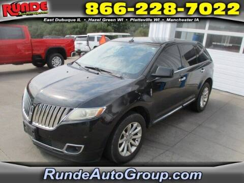 2011 Lincoln MKX for sale at Runde PreDriven in Hazel Green WI
