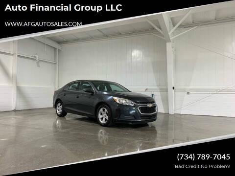 2014 Chevrolet Malibu for sale at Auto Financial Group LLC in Flat Rock MI