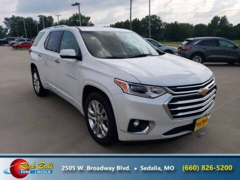 2021 Chevrolet Traverse for sale at RICK BALL FORD in Sedalia MO