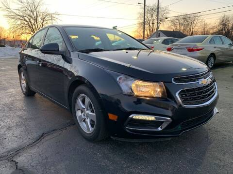 2015 Chevrolet Cruze for sale at Auto Gallery LLC in Burlington WI