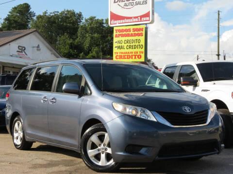 2013 Toyota Sienna for sale at Diego Auto Sales #1 in Gainesville GA