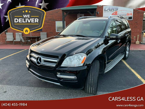 2012 Mercedes-Benz GL-Class for sale at Cars4Less GA in Alpharetta GA
