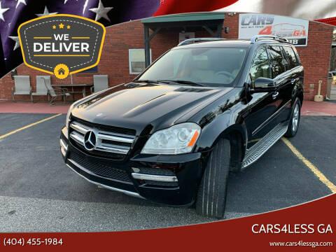 2012 Mercedes-Benz GL-Class for sale at Cars4Less GA in Alpharetta GA