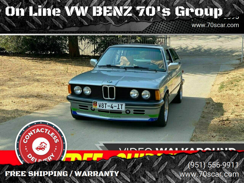 1983 BMW 3 Series for sale at On Line VW BENZ 70's Group in Warehouse CA