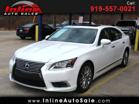 2014 Lexus LS 460 for sale at Inline Auto Sales in Fuquay Varina NC