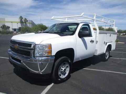 2013 Chevrolet Silverado 2500HD for sale at Corporate Auto Wholesale in Phoenix AZ