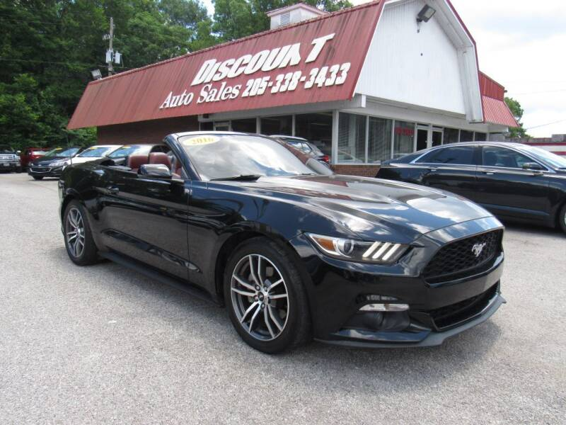 2016 Ford Mustang for sale at Discount Auto Sales in Pell City AL