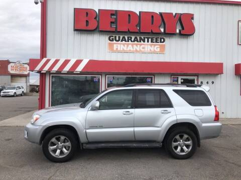 2007 Toyota 4Runner for sale at Berry's Cherries Auto in Billings MT