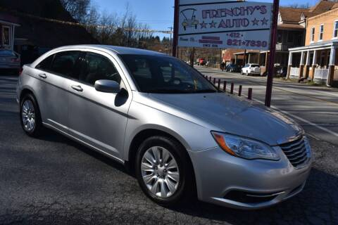 2012 Chrysler 200 for sale at Frenchy's Auto LLC. in Pittsburgh PA