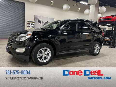 2017 Chevrolet Equinox for sale at DONE DEAL MOTORS in Canton MA