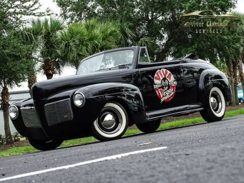 1941 Mercury Eight for sale at SURVIVOR CLASSIC CAR SERVICES in Palmetto FL