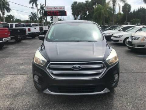 2017 Ford Escape for sale at Denny's Auto Sales in Fort Myers FL