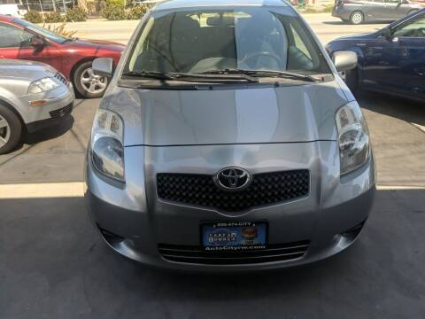 2007 Toyota Yaris for sale at Auto City in Redwood City CA