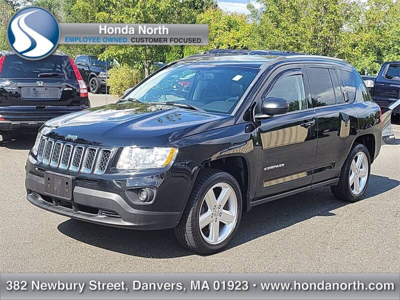 2012 Jeep Compass for sale at 1 North Preowned in Danvers MA