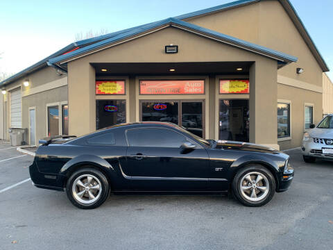 2005 Ford Mustang for sale at Advantage Auto Sales in Garden City ID