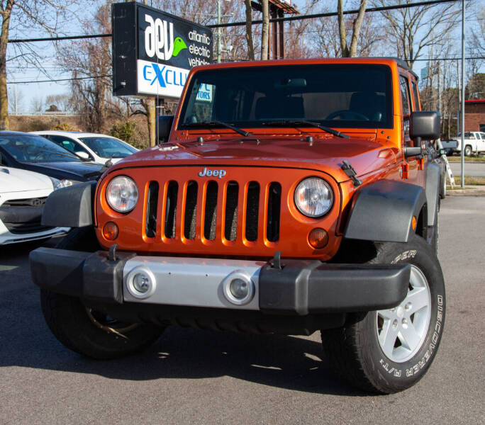 2011 Jeep Wrangler Unlimited for sale at EXCLUSIVE MOTORS in Virginia Beach VA