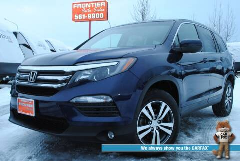 2016 Honda Pilot for sale at Frontier Auto & RV Sales in Anchorage AK