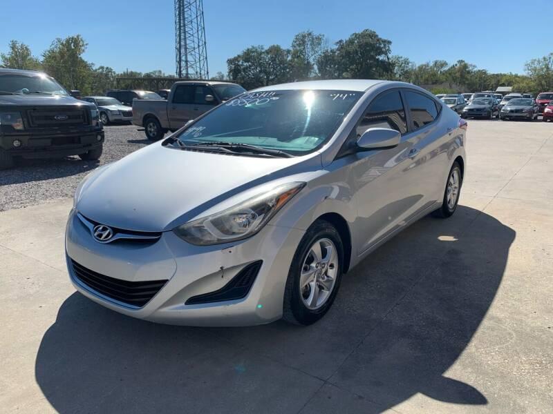 2014 Hyundai Elantra for sale at Bayou Motors Inc in Houma LA