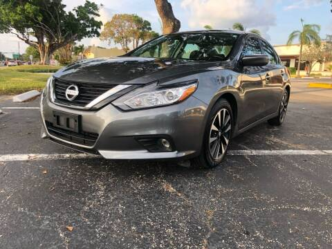 2018 Nissan Altima for sale at GERMANY TECH in Boca Raton FL