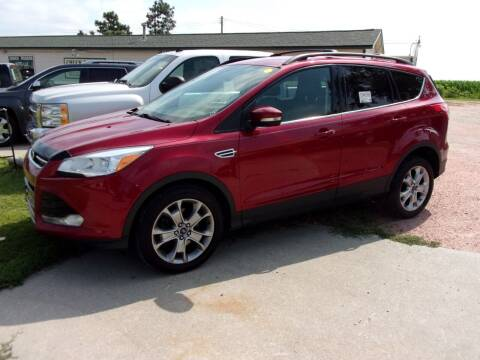 2013 Ford Escape for sale at CHUCK ROGERS AUTO LLC in Tekamah NE