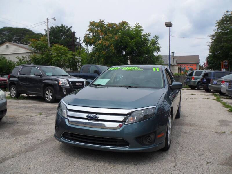 2011 Ford Fusion for sale at Weigman's Auto Sales in Milwaukee WI
