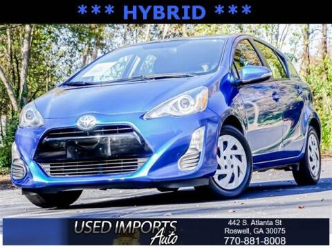 2016 Toyota Prius c for sale at Used Imports Auto in Roswell GA