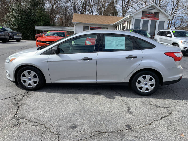 2012 Ford Focus for sale at Simple Auto Solutions LLC in Greensboro NC