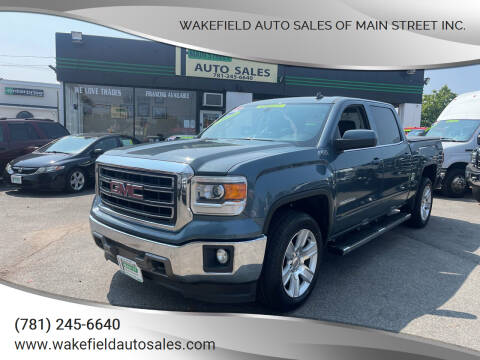 2014 GMC Sierra 1500 for sale at Wakefield Auto Sales of Main Street Inc. in Wakefield MA