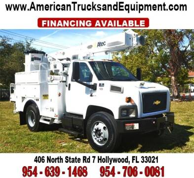 2006 Chevrolet C7500 for sale at American Trucks and Equipment in Hollywood FL